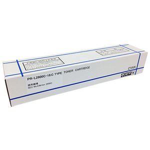 その他 トナーカートリッジPR-L2900C-18 汎用品 シアン 1個 ds-2125619