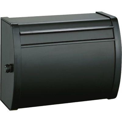 メイワ メイワ 大型ダイヤル錠付カラーポスト MK-82 ブラック 1コ入 4902894132019【納期目安:2週間】