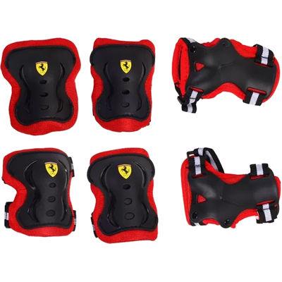 送料無料 新生活 Ferrari フェラーリ Skate 値引き Protector Lサイズ set OTM-36762 ブラック