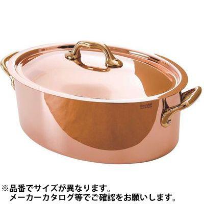 その他 純銅製オーバルココット26cm蓋付 3574906721262