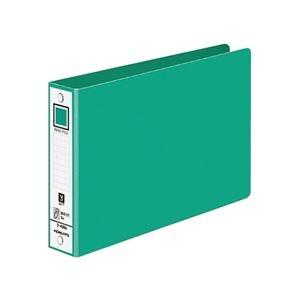その他 (まとめ)コクヨ リングファイル 色厚板紙表紙B6ヨコ 2穴 220枚収容 背幅38mm 緑 フ-408NG 1冊 【×30セット】 ds-2127482