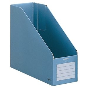 その他 (まとめ)コクヨ ファイルボックスE&SA4フリー型 背幅102mm 青 フ-E455B 1冊 【×30セット】 ds-2127550