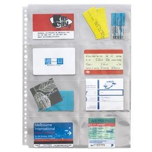 その他 (まとめ)ライオン事務器 分類ポケット A4タテ2・4・30穴 片面8ポケット BP-8 1パック(5枚) 【×20セット】 ds-2128022