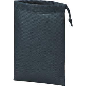 その他 (まとめ)TRUSCO 不織布巾着袋 黒420×330×100mm TNFD-10-M 1袋(10枚) 【×3セット】 ds-2129784