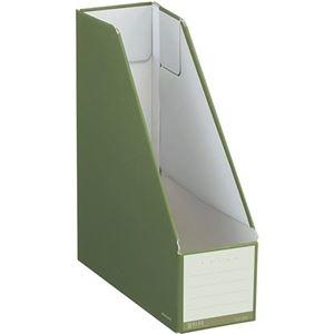 その他 (まとめ)コクヨ ファイルボックス(NEOS)スタンドタイプ A4タテ 背幅102mm オリーブグリーン フ-NEL450DG 1セット(10冊) 【×3セット】 ds-2129817