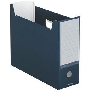 その他 (まとめ)コクヨ ファイルボックス(NEOS)A4ヨコ 背幅102mm ネイビー A4-NELF-DB 1セット(10冊) 【×3セット】 ds-2129824