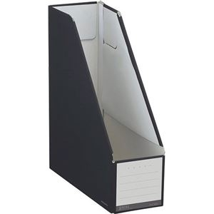 その他 (まとめ)コクヨ ファイルボックス(NEOS)スタンドタイプ A4タテ 背幅102mm ブラック フ-NEL450D 1セット(10冊) 【×3セット】 ds-2129825