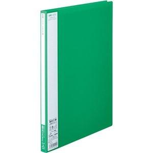 その他 (まとめ)キングジム ユーズナブルクリアーファイル A4タテ 20ポケット 背幅15mm 緑 133USミト 1冊 【×30セット】 ds-2130075
