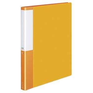 その他 コクヨ クリヤーブック(POSITY)替紙式 A4タテ 30穴 15ポケット付属 背幅27mm オレンジ P3ラ-L720NYR 1セット(10冊) ds-2130263
