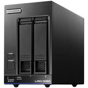 その他 アイ・オー・データ機器 高性能CPU&NAS用HDD「WD Red」搭載 長期3年保証 中規模オフィス向け2ドライブビジネスNAS「LAN DISK X」 8TB 便利な引っ越し機能付 HDL2-X8 ds-1891505