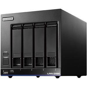 その他 アイ・オー・データ機器 Trend Micro NAS Securityインストール済み 4ドライブ法人向けNAS 4TBライセンス3年 ds-2020550