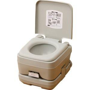その他 マリン商事 本格派ポータブル水洗トイレ 簡易トイレ 10L SE-70030 ds-2143934