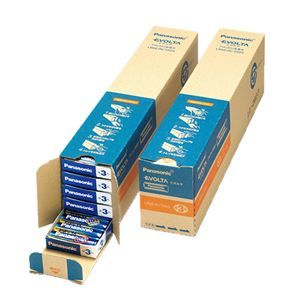 その他 パナソニック アルカリ乾電池EVOLTA 単3形 業務用パック LR6EJN/100S 1セット(200本:100本×2箱) ds-2136267