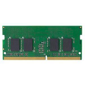 その他 エレコムRoHS対応DDR4メモリモジュール 4GB EW2133-N4G/RO 1個 ds-2137436
