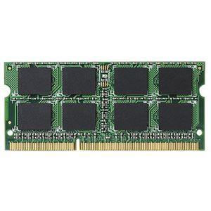 その他 エレコム 204Pin DDR3L1600MHz PC3L-12800 SDRAM S.O.DIMM 4GB EV1600L-N4G/RO 1枚 ds-2137442