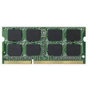 その他 エレコム RoHS対応DDR3-1600 204pin S.O.DIMM 4GB EV1600-N4G/RO 1枚 ds-2137451