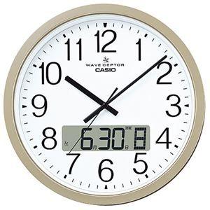 その他 カシオ 電波クロックIC-4100J-9JF 1台 ds-2137867