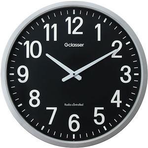 その他 ラドンナ 電波掛時計 ザラージ 黒文字盤GDK-001K 1台 ds-2137871