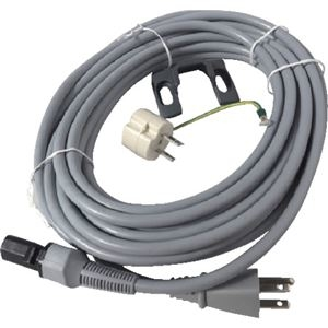 その他 ニルフィスクアドバンスGM80用30ft電源コード 3P グレー 107408837 1本 ds-2138036
