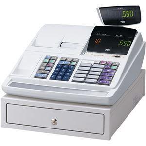 その他 東芝テック 電子レジスターShallotII MA-550シリーズ MA-550-10-R 10部門タイプ 白 22103809 1台 ds-2138249