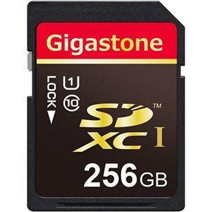 その他 Gigastone SDXCカード256GB UHS-1 GJSX/256U 1枚 ds-2139055