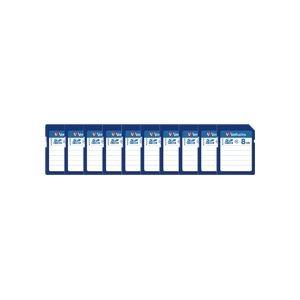 その他 バーベイタム SDHCカード 8GBClass4 業務用パック SDHC8GYVB1C 1セット(10枚) ds-2139064