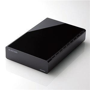 その他 エレコムUSB3.0対応外付けハードディスク e:DISK 3TB ブラック ELD-CED030UBK 1台 ds-2141200