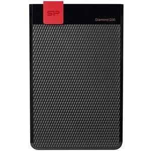 その他 シリコンパワー ポータブルHDDDiamond D30 4TB ブラック SP040TBPHDD3LS3K 1台 ds-2141227