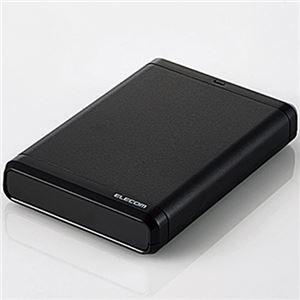 その他 エレコムUSB3.0対応ポータブルハードディスク e:DISK 500GB ELP-CED005UBK 1台 ds-2141272