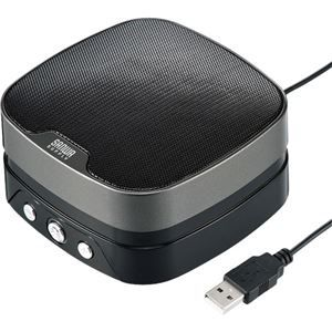 その他 サンワサプライWEB会議小型スピーカーフォン MM-MC28 1個 ds-2141744