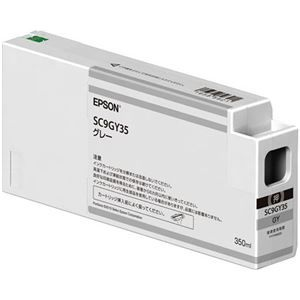 その他 エプソン インクカートリッジ グレー350ml SC9GY35 1個 ds-2143162