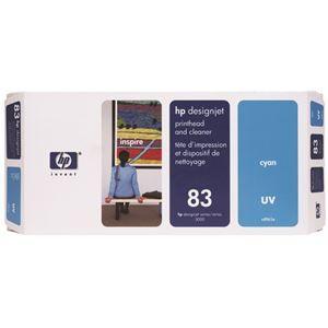 その他 HP HP83プリントヘッド/クリーナーUV シアン C4961A 1個 ds-2143330
