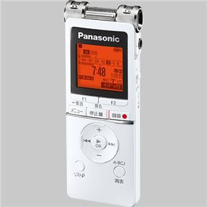 その他 パナソニック ICレコーダー 8GBホワイト RR-XS470-W 1台 ds-2143575