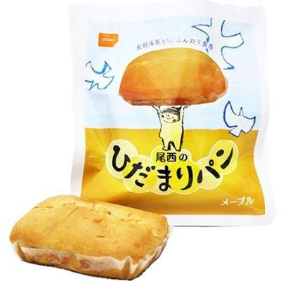 尾西食品 尾西のひだまりパン メープル 36コ入 4970088790352【納期目安:2週間】
