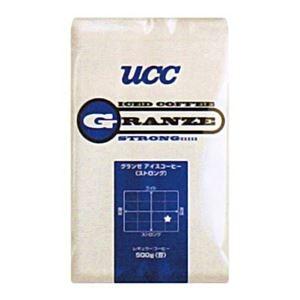 その他 UCC上島珈琲 UCCグランゼストロングアイスコーヒー(粉)AP500g 12袋入り UCC301192000 ds-2144955