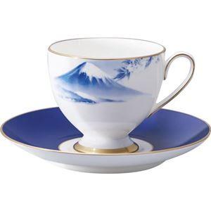 その他 ナルミ 1客碗皿「霊峰 富士山」 B3020024 ds-2149135