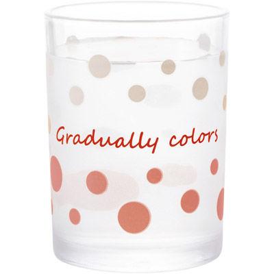 その他 【72個セット】冷やすと色が変わるドットグラス MRTS-33203