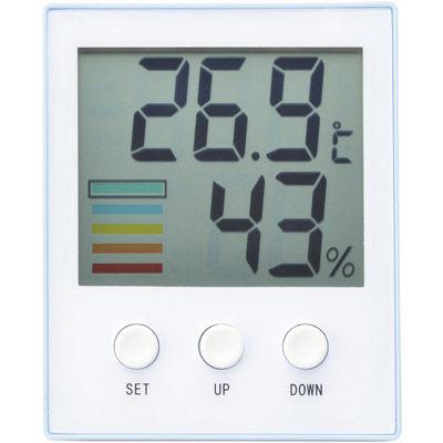 その他 【90個セット】熱中対策デジタル温湿度計 MRTS-33242