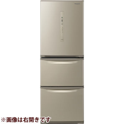 パナソニック 3ドア 左開き 335L ノンフロン冷蔵庫 シルキーゴールド NR-C340CL-N【納期目安:2/下旬発売予定】
