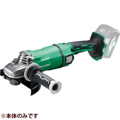 HiKOKI(日立工機) 【36V】【MULTI VOLT(マルチボルトシリーズ)】コードレスディスクグラインダ(ブレーキ付) (※本体のみ)(マルチボルト蓄電池・急速充電器・ケースは別売です)(※トイシ不付) G3618DA(NN)