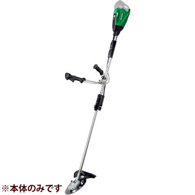 HIKOKI(日立工機) 【36V】【MULTI VOLT(マルチボルトシリーズ)】 コードレス刈払機(伸縮式)(蓄電池、充電器は別売となります。) CG36DTA(NN)