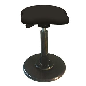 その他 モダン スツール/丸椅子 【ブラック×ブラック】 幅33cm 日本製 スチールパイプ 『ツイストスツールラフレシア3』 ds-2154537