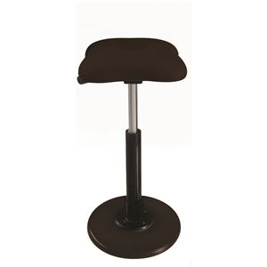その他 モダン スツール/丸椅子 【ブラウン×ブラック】 幅33cm 日本製 『ツイストスツールラフレシア Kモーション』【代引不可】 ds-2154547