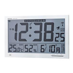 【送料無料】電波置掛時計メルスター W-602 WH【代引不可】 (ds2152180) その他 電波置掛時計メルスター W-602 WH【代引不可】 ds-2152180