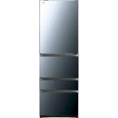 東芝 VEGETA(ベジータ) 5ドア冷蔵庫(465L・右開き) クリアミラー GR-R470GW-XK【納期目安:3週間】