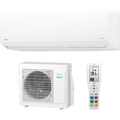 富士通ゼネラル エアコン nocria(ノクリア) Zシリーズ おもに18畳用 単相200V ホワイト AS-Z56J2W