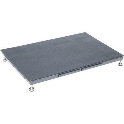 サカエ 足踏台(すべり止めマット付)連結タイプ低床用 (グレー) SA-0960