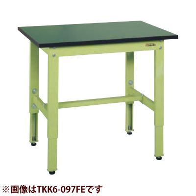 サカエ 軽量高さ調整作業台TKK6タイプ(改正RoHS10物質対応) TKK6-186FE