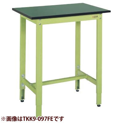 サカエ 軽量高さ調整作業台TKK8タイプ(改正RoHS10物質対応) TKK8-186FE