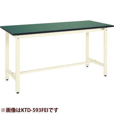 サカエ 中量立作業台KTDタイプ(改正RoHS10物質対応) KTD-383FEI